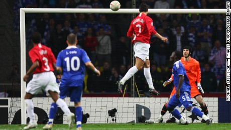 Manchester United beat Chelsea on penalties in the 2008 Champions League final.