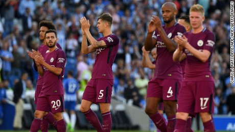 Manchester City has  overseas owners, a Spanish coach and a host of global stars in its team.