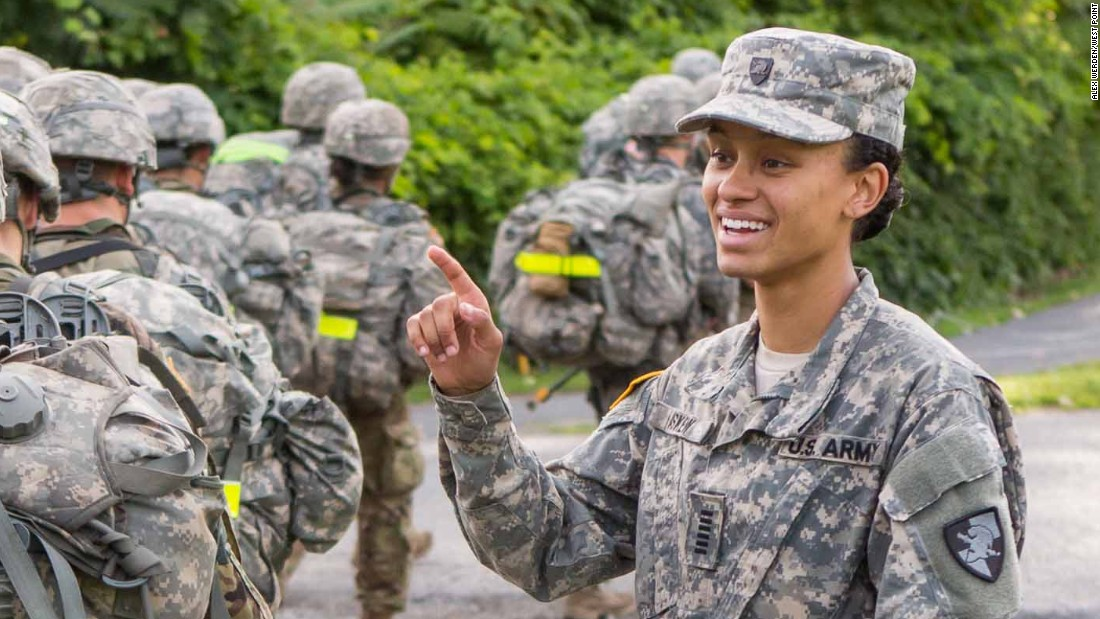 First Black Woman To Lead West Point Cadets Humbled By