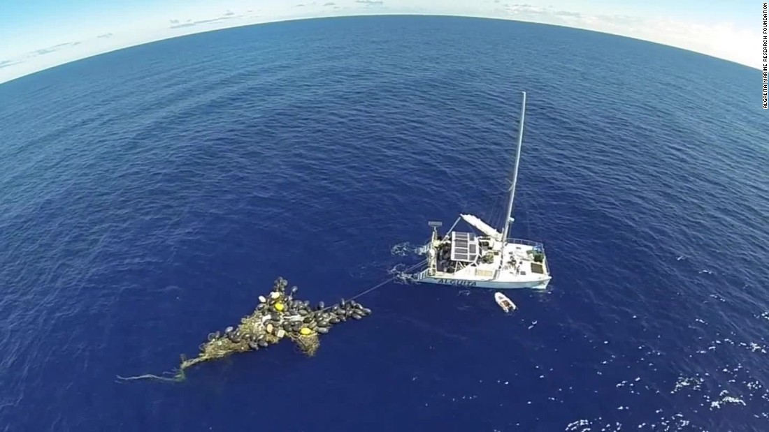 Debris In The Form Of 1 8 Trillion Pieces Now Occupy An Area Three Times Size France Pacific Ocean Between California And Hawaii