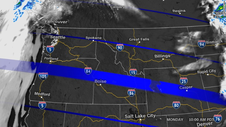 the western us also has the advantage of experiencing the eclipse in the morning before the heat of the day has had a chance to build up clouds and storms