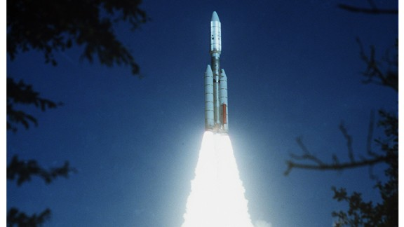 Voyager 2 launched on Aug. 20, 1977, about two weeks before the Sept. 5 launch of Voyager 1.