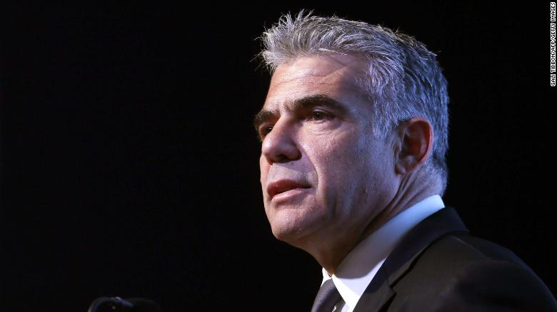 Yair Lapid, head of the centrist Yesh Atid party, has tried to keep his party's image away from the left.