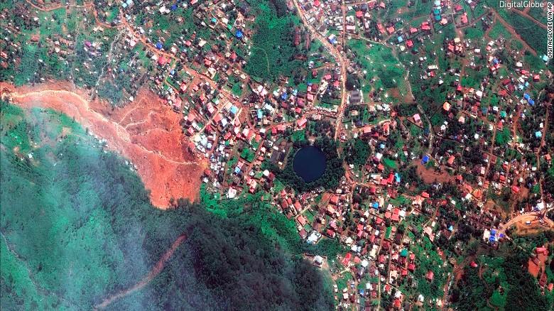 Sierra Leone mudslide Over 300 bodies recovered CNN