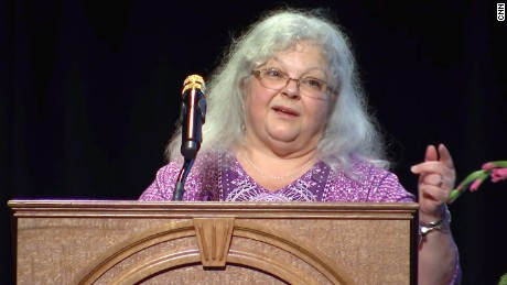 "Susan Bro, mother of Heather Heyer, asked listeners Wednesday to find a ""spark of accountaibility"" in their hearts and ask themselves: ""What is there that I can do to make the world a better place?"""