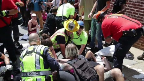 Witness Describes Clashes in Charlottesville