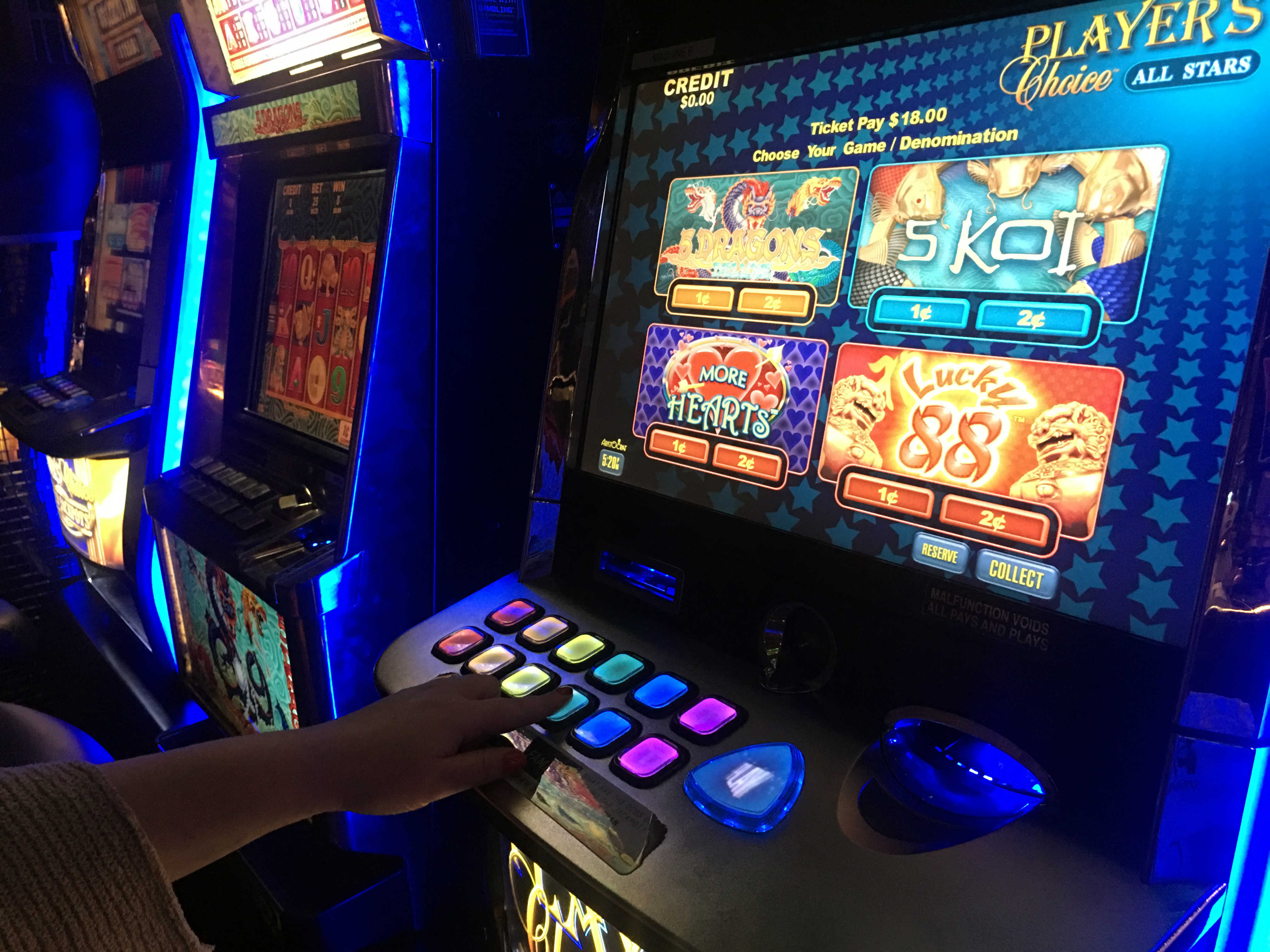 what are slot machines called in australia