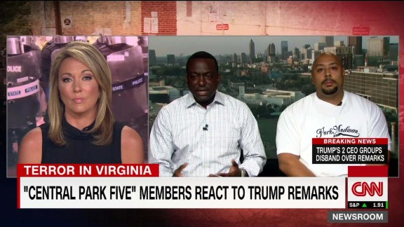 exp Central Park Five discusses Charlottesville Protests _00002001.jpg