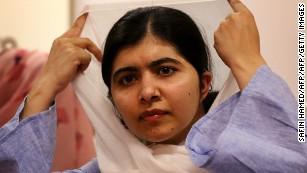 Nobel Peace Laureate Malala Yousafzai