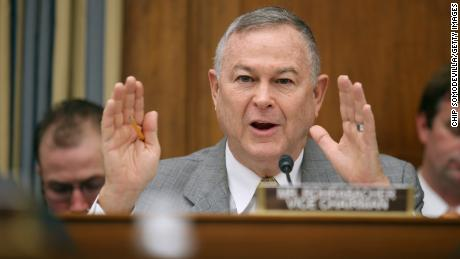 "WASHINGTON, DC - MARCH 19:  House Science, Space and Technology Committee member Rep. Dana Rohrabacher (R-CA) questions witnesses from NASA, the Department of Defense and the White House during a hearing in the Rayburn House Office Building on Capitol Hill March 19, 2013 in Washington, DC. The committee asked government and military experts about efforts to track and mitigate asteroids, meteors and other ""near-Earth objects.""  (Chip Somodevilla/Getty Images)"