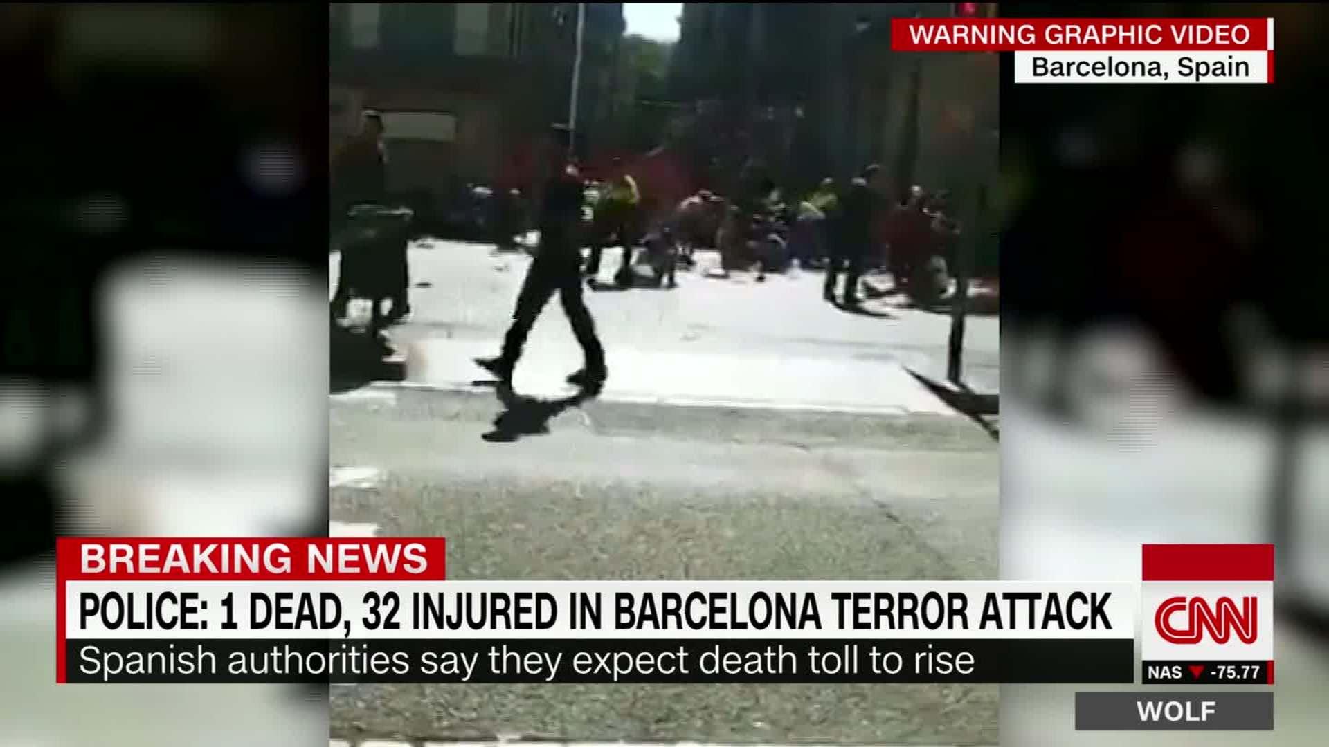 745d763623 Video shows bodies on ground after van attack - CNN Video