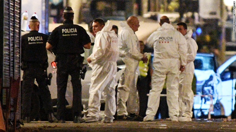 5ccb7ee522 Barcelona attack is worst in a day of violence in Spain - CNN