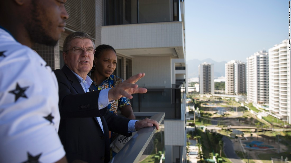 The Olympics brought Misenga global attention and contact with the likes of IOC president Thomas Bach.