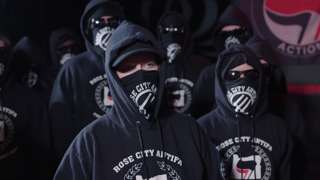 A new bill aims to send masked Antifa activists to jail for 15 years