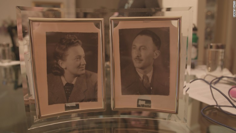 Sonia K. and her husband Josef.