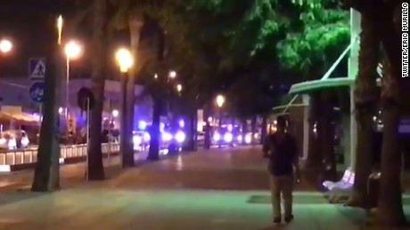Gunfire breaks out during Cambrils attack