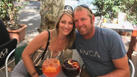 American Jared Tucker was on a two-week European trip with his wife, Heidi Nunes.