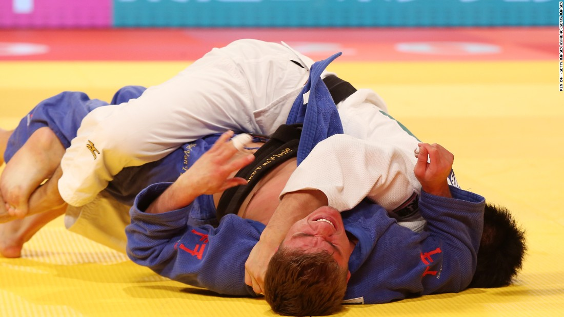 "Literally meaning ""gentle way,"" judo techniques harness an opponent's force to your own advantage by throwing and pinning them to the ground."