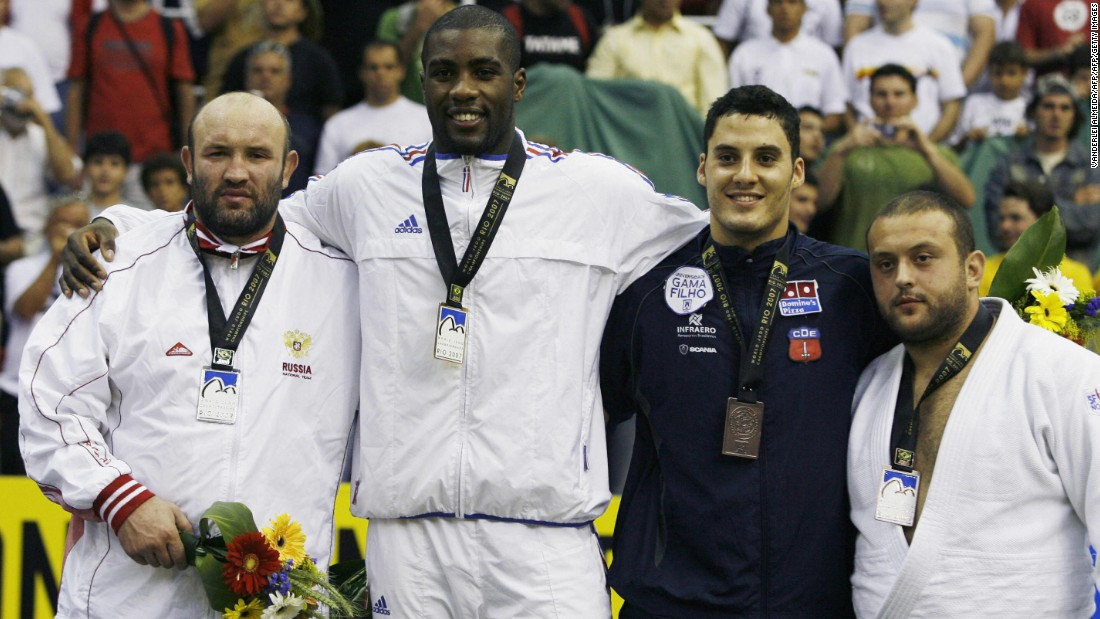 In 2007, aged just 18 years and five months, Riner became the youngest ever judo world champion after winning gold at the Rio de Janeiro World Championships.