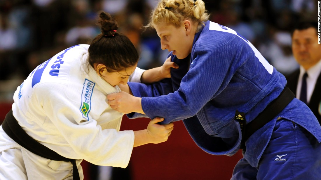 Harrison also has one world championship title to her name, from Tokyo in 2010, when she became the first American woman to win gold in the tournament in over a decade.