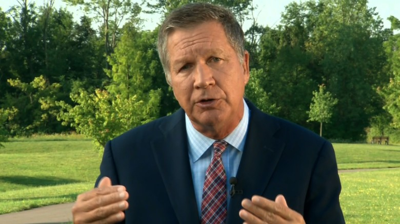 Kasich: I'm rooting for Trump