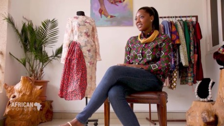 African Voices Afua Rida social media fashion mogul from Ghana C_00021823
