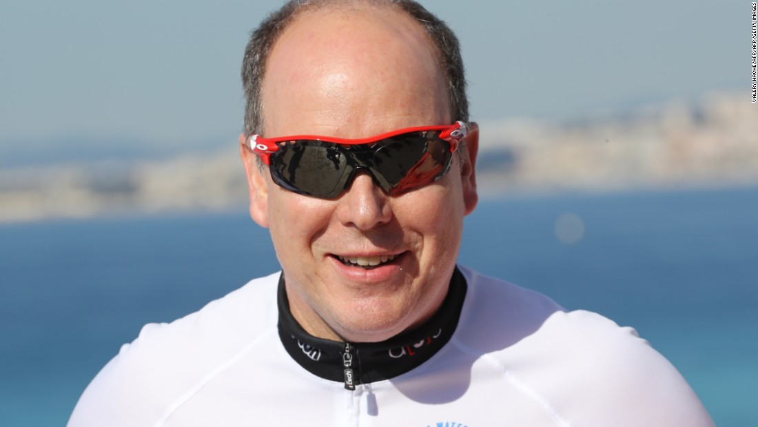 Prince Albert of Monaco adds a regal air to this list. The Prince, whose athletic achievements are considerable, is a black belt.