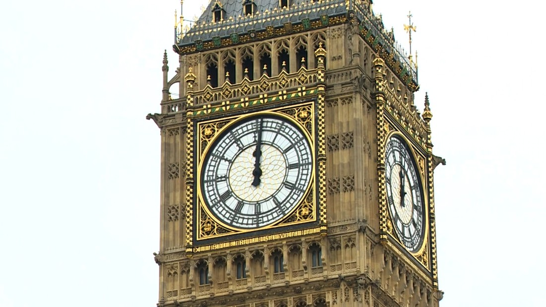 The full extent of World War II damage to Big Ben has only just been discovered