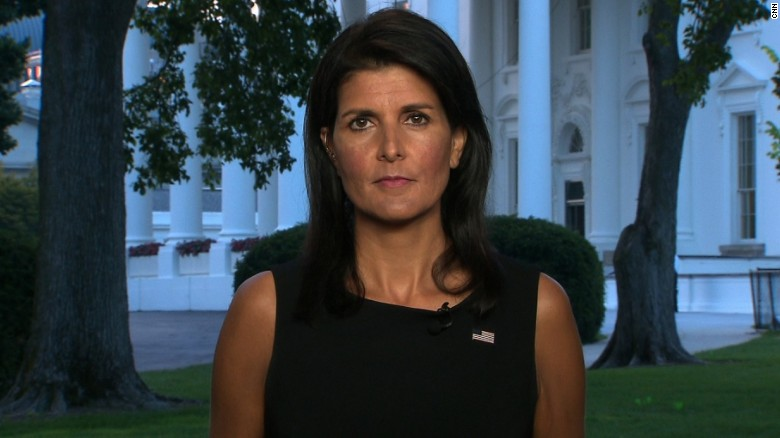 Haley: Trump clarified no room for bigotry