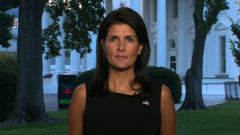 Haley: Trump listened to his generals