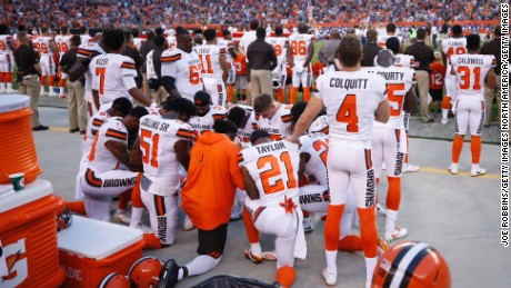 The unexpected connection between slavery, NFL protests and the national anthem