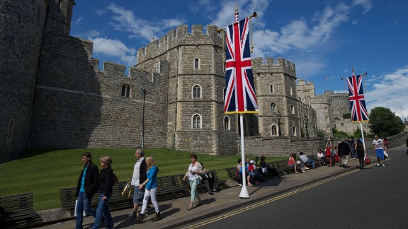 "Royal officials say Windsor Castle is a ""special place"" for Prince Harry and Meghan Markle."