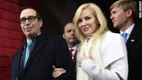 Treasury secretary's wife apologizes for Instagram post, reply