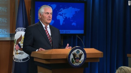 Tillerson addresses Trump's Afghanistan plan