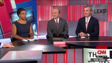 lead panel 2 mnuchin wife trump charlottesville white house jake tapper _00000000
