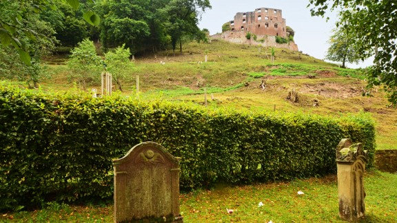 Pfalz: The atmospheric village of Frankenstein in Pfalz, Germany, may have also been an inspiration for Mary Shelley.
