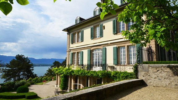 Villa by the lake: In June 1816, this villa overlooking Lake Geneva hosted five young people from England, including Mary Shelley and romantic poet Lord Byron. It was here Shelley first related her Frankenstein tale.