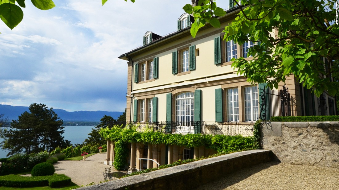 <strong>Villa by the lake: </strong>In June 1816, this villa overlooking Lake Geneva hosted five young people from England, including Mary Shelley and romantic poet Lord Byron. It was here Shelley first related her Frankenstein tale.