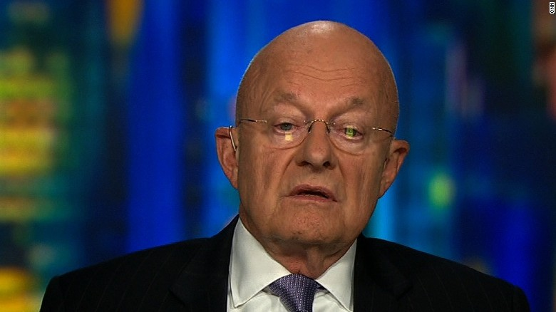 Clapper questions Trump's fitness to hold office