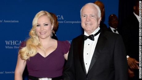 Meghan McCain asks how WH staffer who joked about her father's brain cancer still has a job