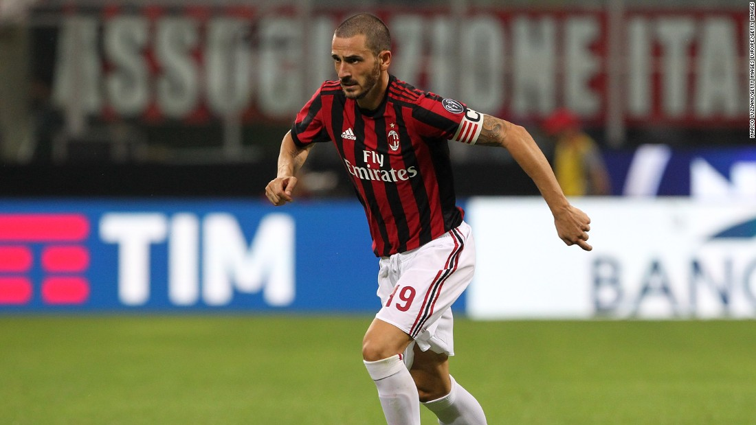 AC Milan's new owners made their intentions to rebuild clear with the signing of Italian international central defender Leonardo Bonucci. His transfer, from Serie A rival Juventus, involved the highest fee ever for a player aged 30 or over.