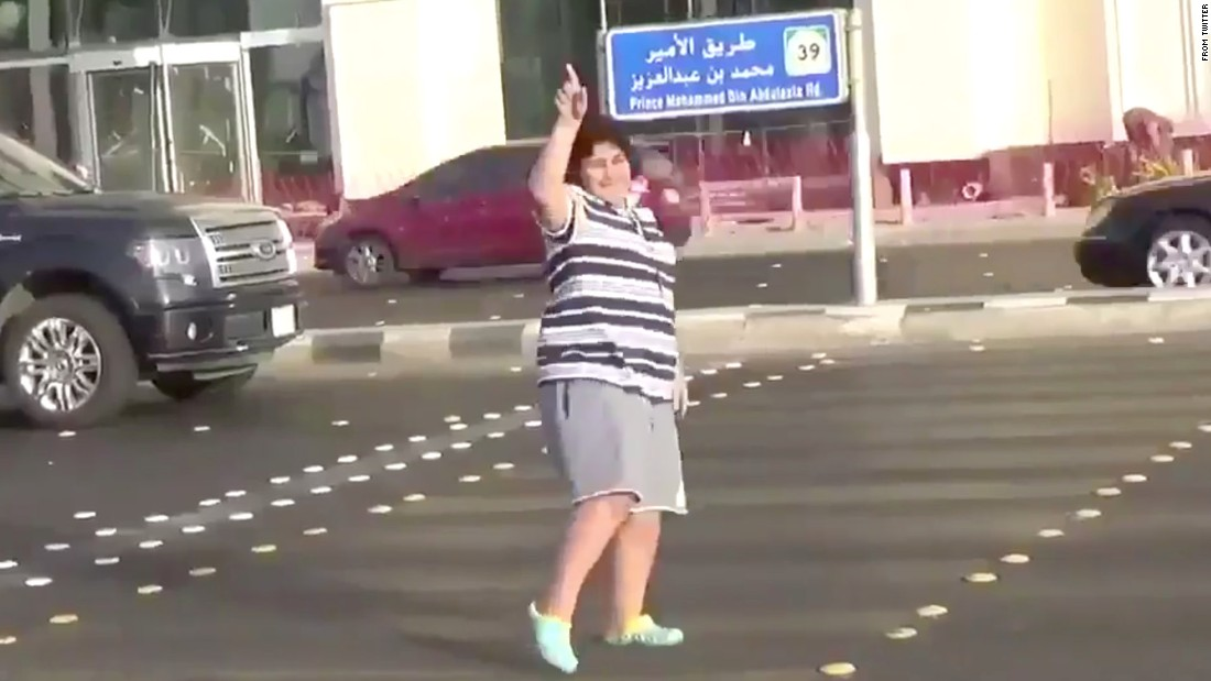 Saudi Police Question Teen Who Did Macarena In Street - Cnn-7881