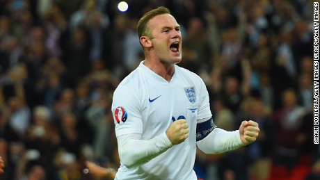 Wayne Rooney is England's all-time leading goalscorer.