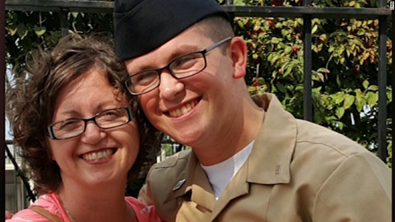 Missing sailor's mom gives emotional interview