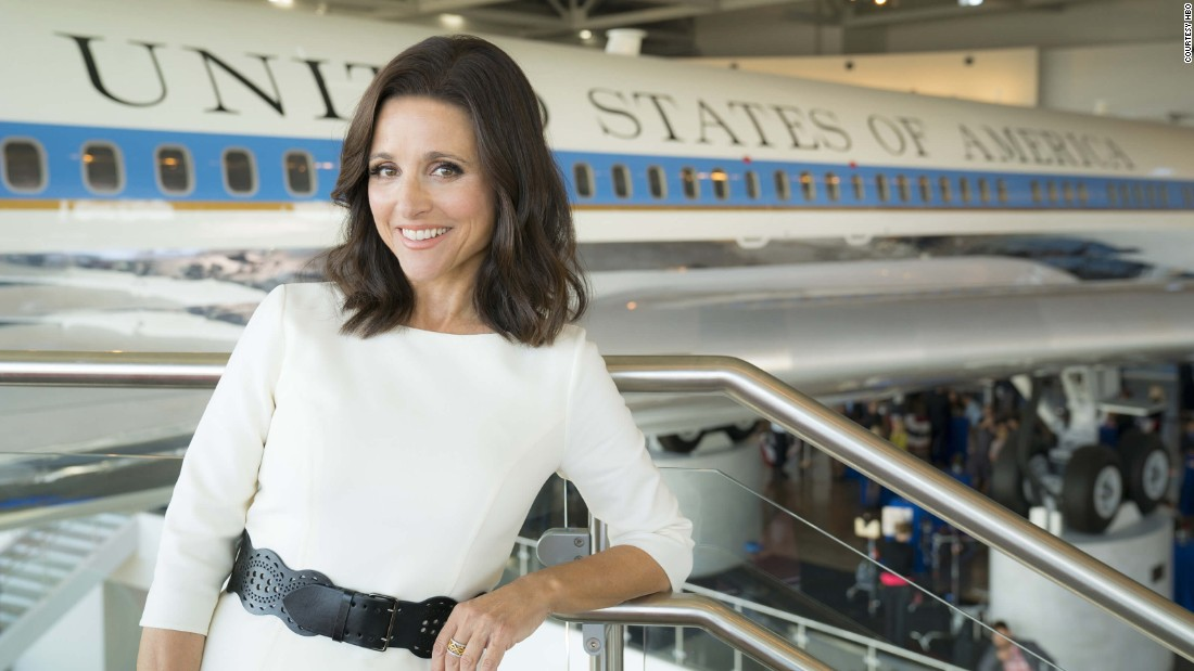 "As President Selena Meyer, Julia Louis-Dreyfus has elevated political satire to new heights for six seasons on ""Veep."" By delivering razor sharp dialog with perfect timing, Louis-Dreyfus, who is among the producers of ""Veep,"" has scored the lead actress in a comedy Emmy for five years straight. We, of course, already appreciated her comedic brilliance on ""The New Adventures of Old Christine,"" ""SNL"" and that little show ""Seinfeld,"" but we love Louis-Dreyfus as a foul-mouthed and funny politician."