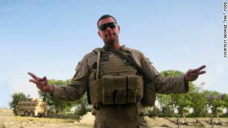 "George ""Mik"" Todd served as a Navy corpsman in Afghanistan in 2009."