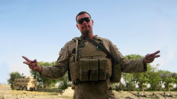 """George """"Mik"""" Todd served as a Navy corpsman in Afghanistan in 2009."""