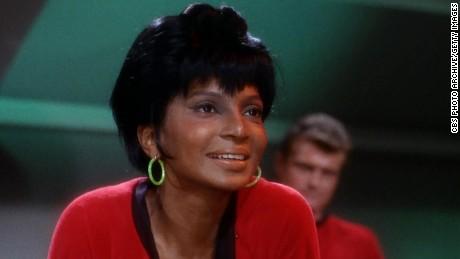 Nichelle Nichols had a groundbreaking role on &quotStar Trek: The Original Series.&quot