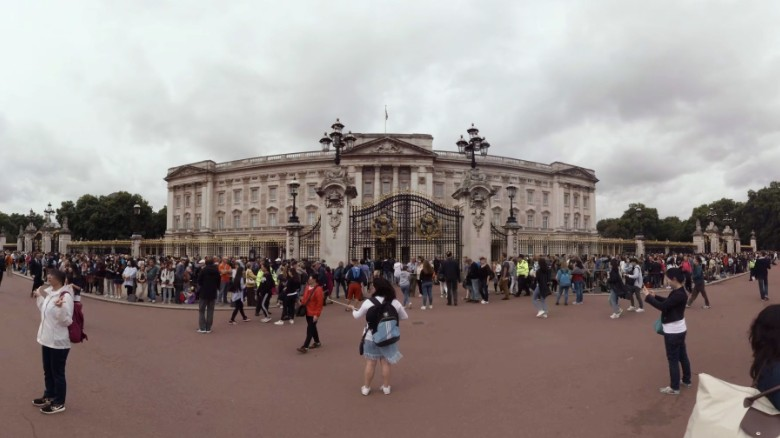 Buckingham Palace Is The Official Residence Of Queen Elizabeth Ii