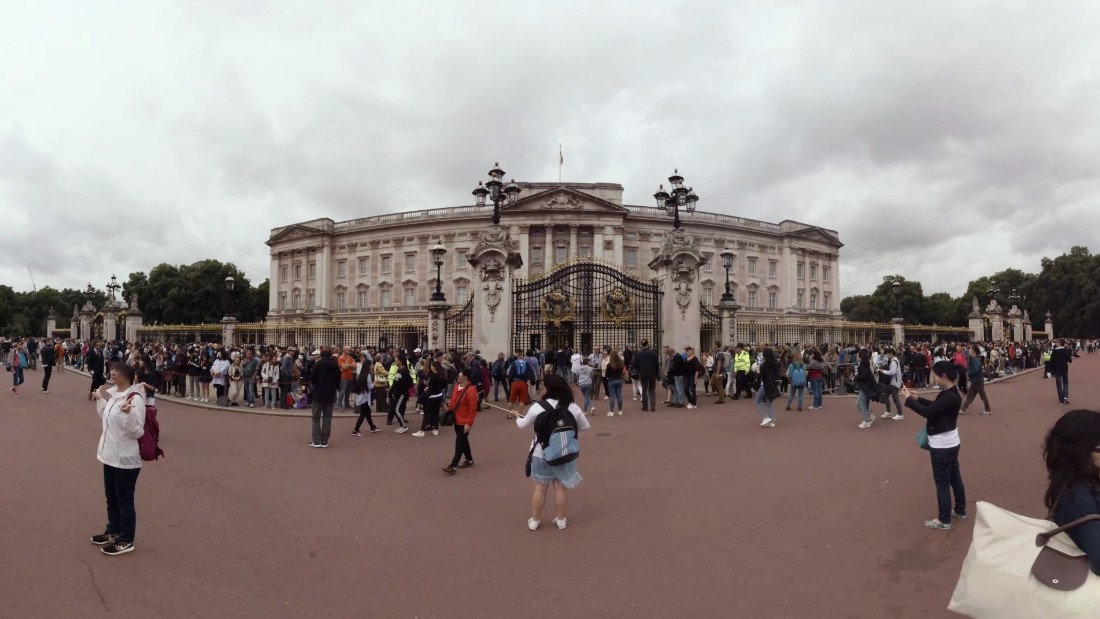 man held near buckingham palace after attack on police cnn. Black Bedroom Furniture Sets. Home Design Ideas